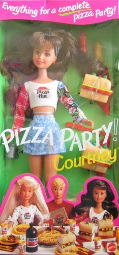 Barbie - Pizza Party COURTNEY Doll - Pizza Hut 1994 Mattel