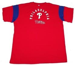 Men's Big & Tall Philadelphia Phillies Shirt Tee Baseball Majestic Crew T-Shirt