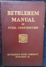 1934 -Bethlehem Manual of Steel Construction-Bethlehem, PA-Structural Sh... - $31.95