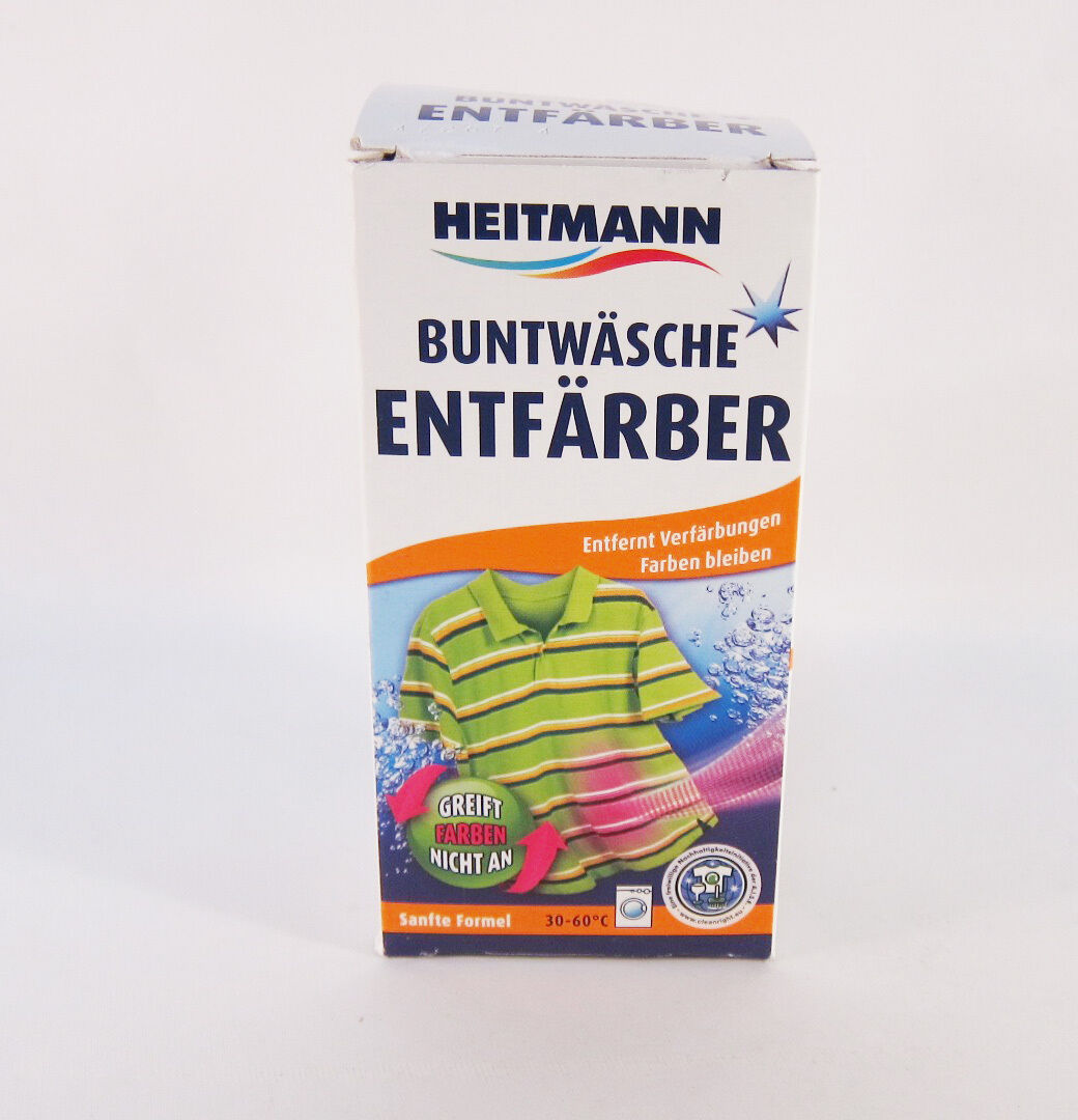Primary image for Heitmann Colored Fabrics Stain Remover -1 box-Made in Germany