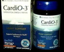 Dietary Heart Health Minami Nutrition CardiO-3 Garden of Life 60CT·MSRP $35.69 - $6.92