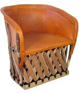 """Mexican Equipal Armchair """"Santa Fe"""" - $550.00"""
