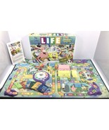 Hasbro Game Of Life SPONGEBOB SQUAREPANTS EDITION 2005 Board Game Nickel... - $18.95