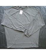 Ouray Sportswear Men's Long Sleeve Tee Sz 3XL Activewear Long Sleeve Gra... - $28.71