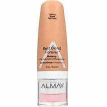 Almay Best Blend Forever Foundation, Sand Beige, 1 fl. oz, SPF 40 Broad Spectrum - $6.92