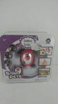 New Snap Pets Pink. Portable Blue tooth Camera. Cute! - $18.80