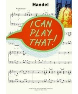 Handel (I Can Play That), Evans, Peter, Very Good Book - $4.95