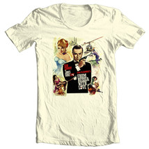 007 from russia with love sean connery t shirt white sizes small  through 5 xl natural thumb200