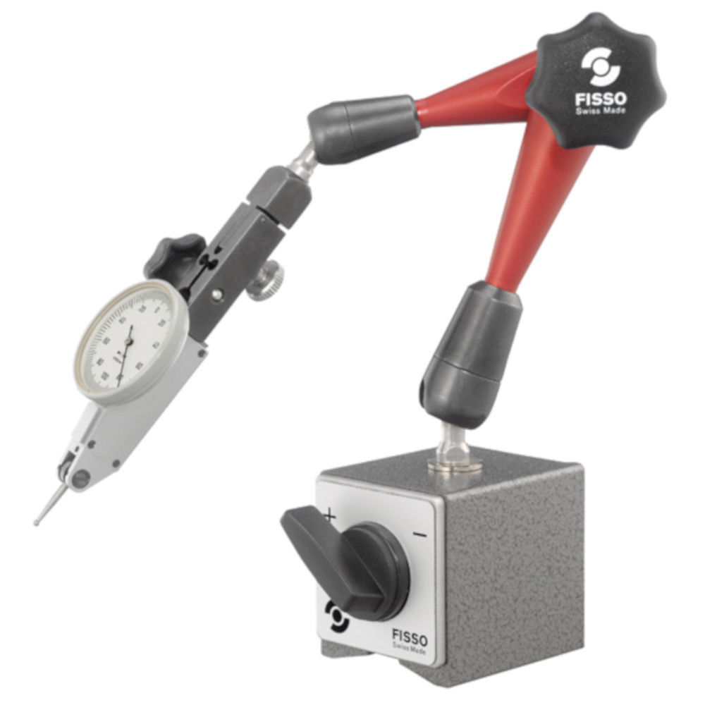 "Primary image for Fisso Strato S-20 F + M 3/8"" Articulated Gage Holder Arm & Switch Magnet"