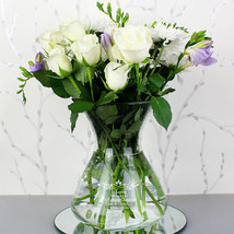 Personalised Sentiments Glass Vase Mother's Day, Valentines, Birthdays Gift - $28.71