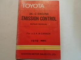 1979 Toyota 3K-C Engine Emission Control Service Repair Shop Manual OEM ... - $19.75