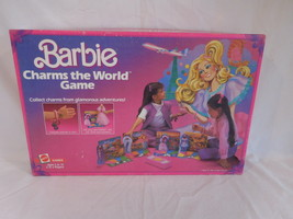 Barbie Charms The World Game Rare Vintage Htf Used 1985 Mattel - $54.02