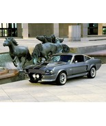 1969 Ford Mustang Shelby GT500 gey 24X36 inch poster, sports car, muscle... - $18.99