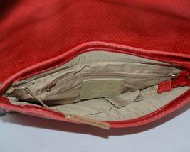Amanda Blu 85088Chr Large Bright Red Clutch Inside Pockets image 4