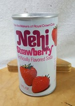Vintage Pull Tab Strawberry Nehi Soda Can 1980s No Bar Code VG+ - $11.87