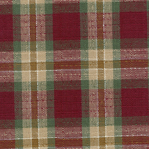 Longaberger Small Fruit Basket Orchard Park Plaid Fabric Over Edge Liner... - $11.83