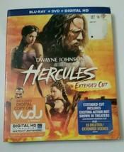 Hercules (Blu-ray/DVD, 2014, 2-Disc Set, NO Digital Copy Ultraviolet) - $1.99