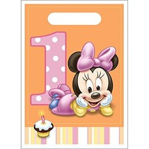 Minnie Mouse 1st Birthday Favor Bags (8ct) - $6.88