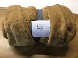 "50""x70"" Oversized Primalush Throw Blanket Tan - Threshold - $2,491.42"