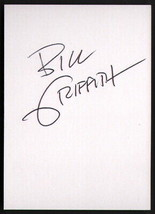Bill Griffith SIGNED History / Comics Signature Autograph Card Zippy The... - $16.82