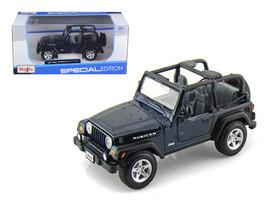 Jeep Wranger Rubicon Blue 1/27 Diecast Model Car by Maisto - $50.99