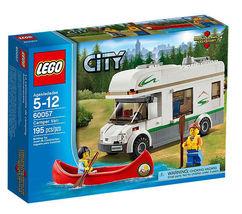 LEGO City  60057 Camper Van 195 Pieces Building Set New - $59.99