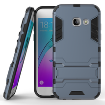Kickstand Protective Phone Cover Case for Samsung Galaxy A3 (2017) - Nav... - $4.99