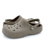 Crocs Mens 9 Green Comfort Casual Round Toe Rubber Insulated Clog Shoes ... - $28.99