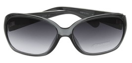 New Calvin Klein Sunglasses Women Grey Transparent Rectangular CK7740S 029 - $147.51