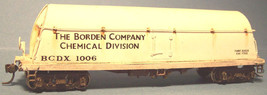 Funaro & Camerlengo HO Borden's Milk Tank Car Chemical Division Kit  1013 image 2