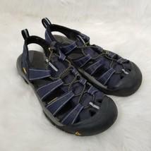 Keen P Sandal Waterproof Beach Sport Shoe Womens 9 Mens 7 Blue yellow - $41.40 CAD