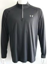 Under Armour Mens UA Heatgear Quarter Zip Pullover Activewear Size S M L... - $25.48