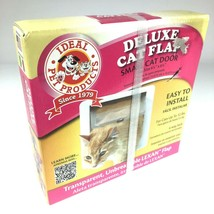 Ideal Pet Products 4 Way Locking Deluxe Small Cat flap door with lexan flap - $11.35