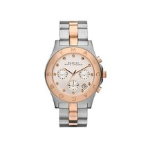 Womens Marc Jacobs Watch MBM3178 Blade Two Tone Rose Gold Chronograph  - $175.00