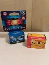 2 ROLLS EXPIRED35mmFILM -KODAK And Rite Aid Unopened Camera film - $9.90