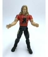 WWE Titan Tron Live Christian Cage Action Figure Red Shirt 1999 Jakks Pa... - $8.99