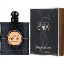 Black Opium Yves Saint Laurent Ysl Edp Spray Perfume For Women 3.0 Oz / 3 Oz - $53.83