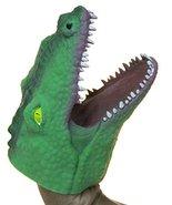 Soft Rubber Realistic 6 Inch Alligator Hand Puppet (Dark Green) by Fun S... - $4.31