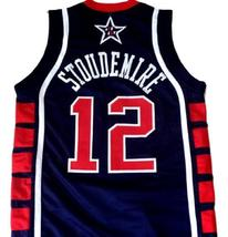 Amare Stoudemire #12 Team USA Basketball Jersey Navy Blue Any Size image 2