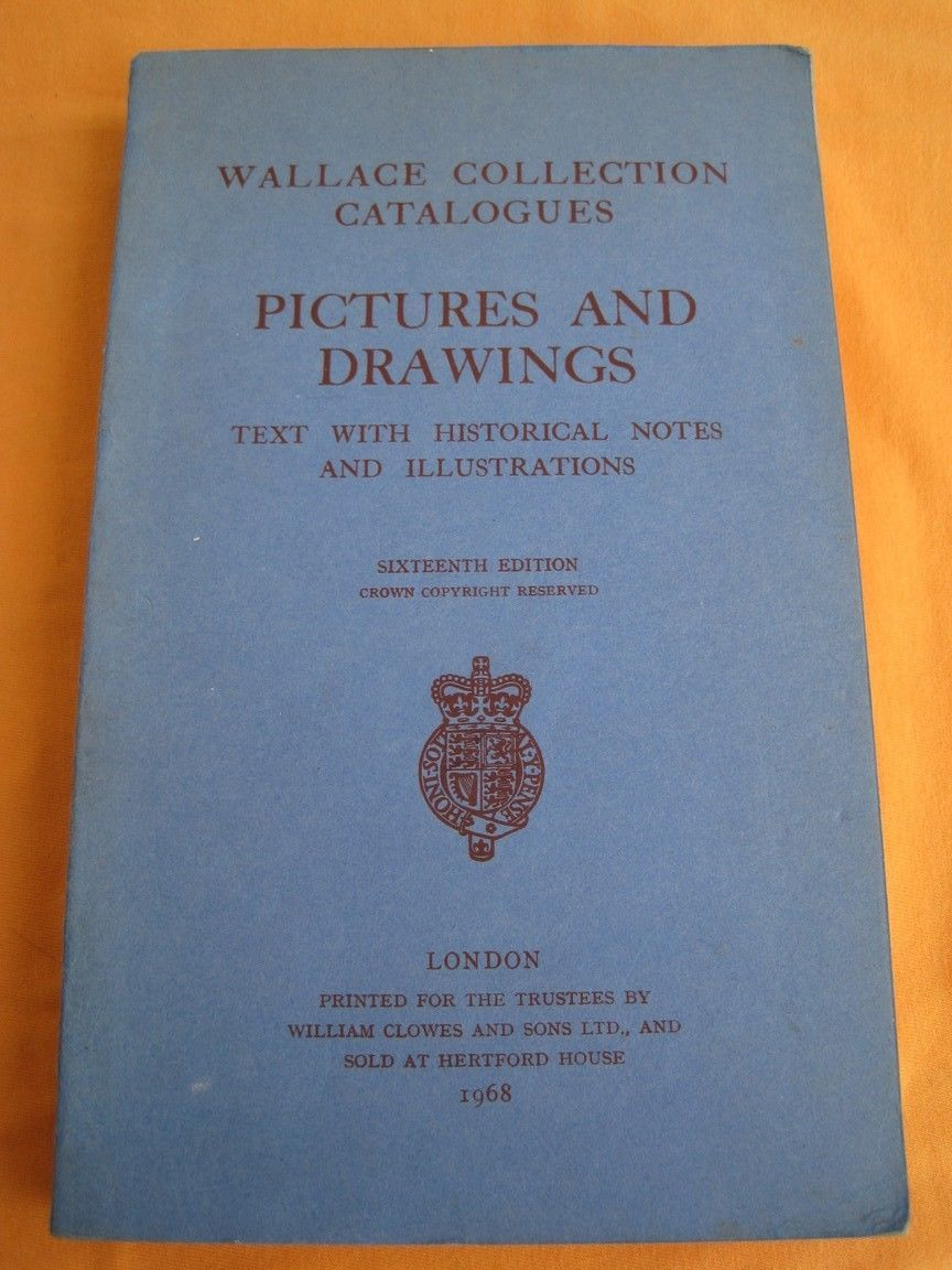 Primary image for Antique catalog Pictures and Drawings London England 1968