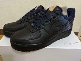 Pendleton Nike Sneakers Shose Air Force 1 By You Men's US9 Custom Black Blue New - $359.00