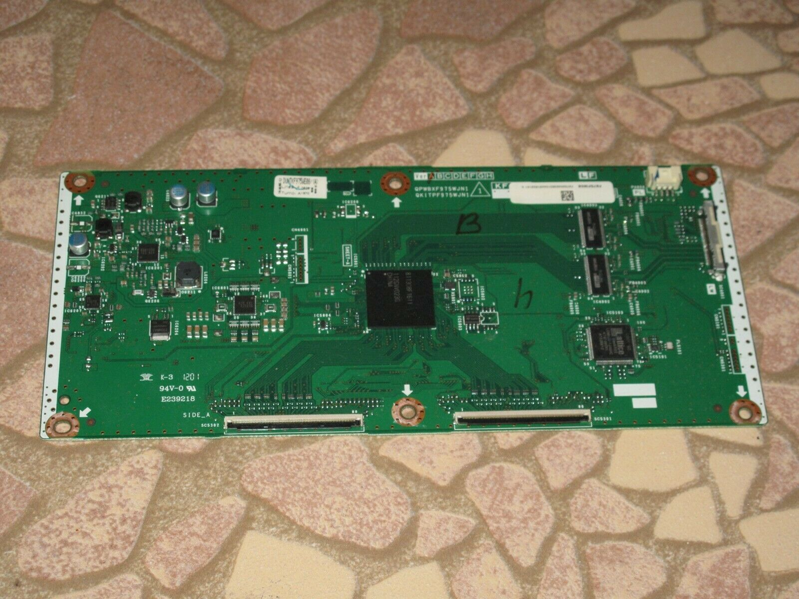 "Primary image for Sharp 60"" LC-60LE640U DUNTKF975FM08 DUNTKF975WE08 T-Con Control Timing Board"