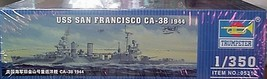 Trumpeter 1/350 Kit 05310 USS Heavy Cruiser SAN FRANCISCO CA-38 1944  image 5