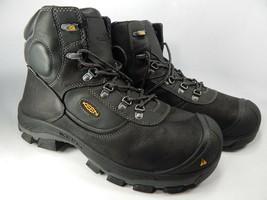 """Keen Leavenworth Internal Met Guard 6"""" Size 13 M (D) EU 47 Men's WP Work Boots"""