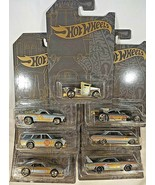 2019 Hot Wheels 51st Anniversary Satin & Chrome FULL SET OF 7 wCHASE Got... - $36.00