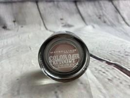 Maybelline Eyestudio Color Tattoo 24HR Eyeshadow 140 ROSE RIOT - $8.59