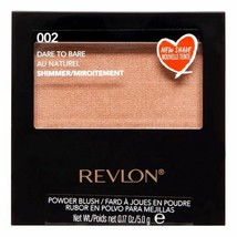 Revlon Powder Blush with Brush ~ 02 Dare To Bare 0.17 Oz. *Twin Pack* - $12.99