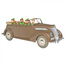 The Convertible Ford V8 in entrapment Car 1/24 Voiture Tintin Cars New 2019 image 1