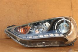 13-16 Hyundai Veloster Turbo Projector Headlight Lamp W/LED Driver Left LH image 9