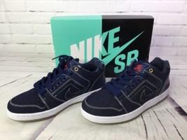 Nike SB Air Force II 2 Low QS East West Rivals Biggie Tupac AO0298 441 Size 6 - $121.54